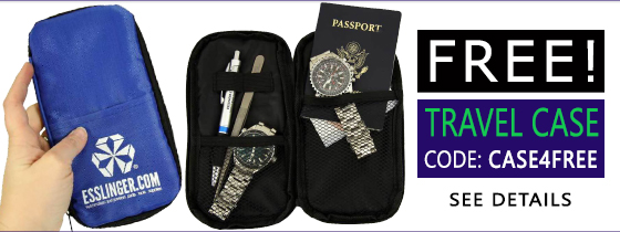 Free Travel Case with qualifying order.