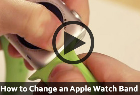 Learn How To Change an AppleWatch Band