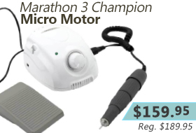 Plenty of power in a compact size, the Marathon 3 Champion Micro Motor.