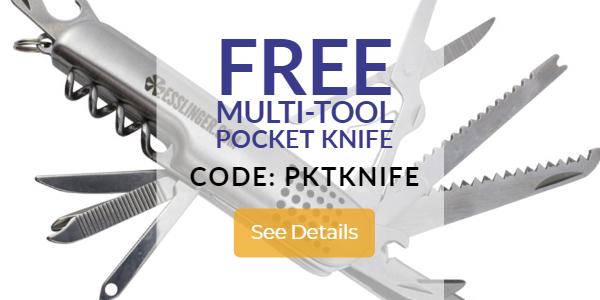 FREE MULTI-TOOL POCKET KNIFE - CODE: PKTKNIFE