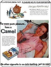 Camel's Cigarettes Ad