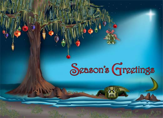 [Season's Greetings from Bayou Closets]