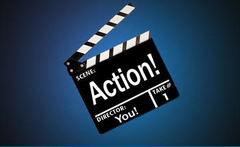 Action! Film Slate