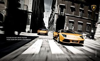 Lamborghini Driving Ad