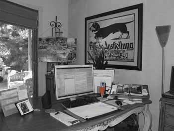 My Desk in August!