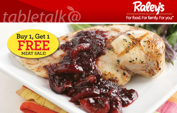 2-for-1 Meat Sale at Raley's ad
