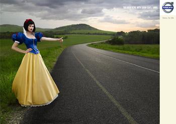 Snow White Volkswagen Ad