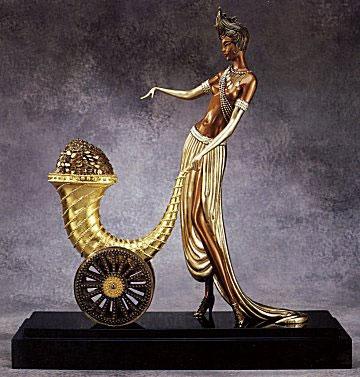Erte Cornucopia Bronze