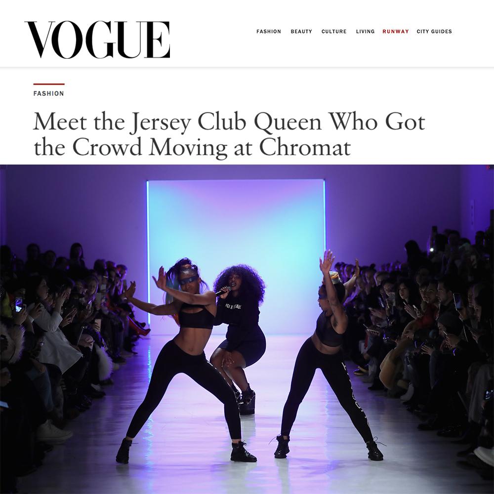 UNIIQU3 in Vogue