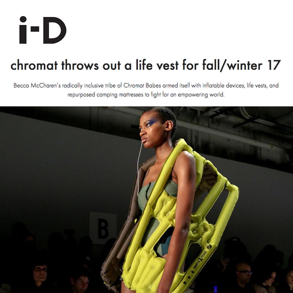 Chromat by i-D