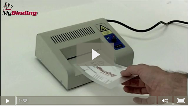 How To Use A Laminator Video