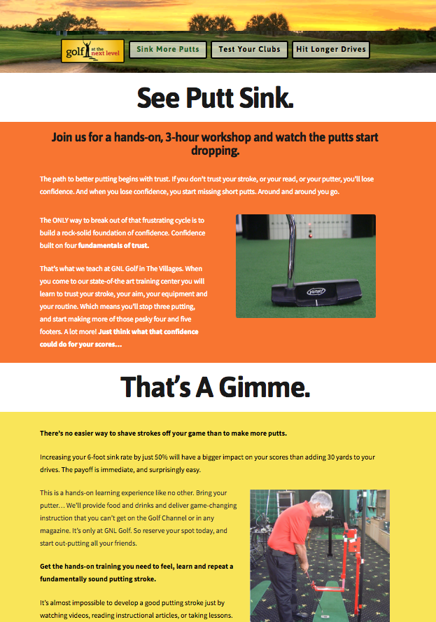 BNBranding case study golf industry marketing