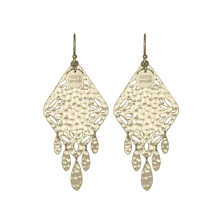 Nicole Fendel Zinnea Statement Earrings