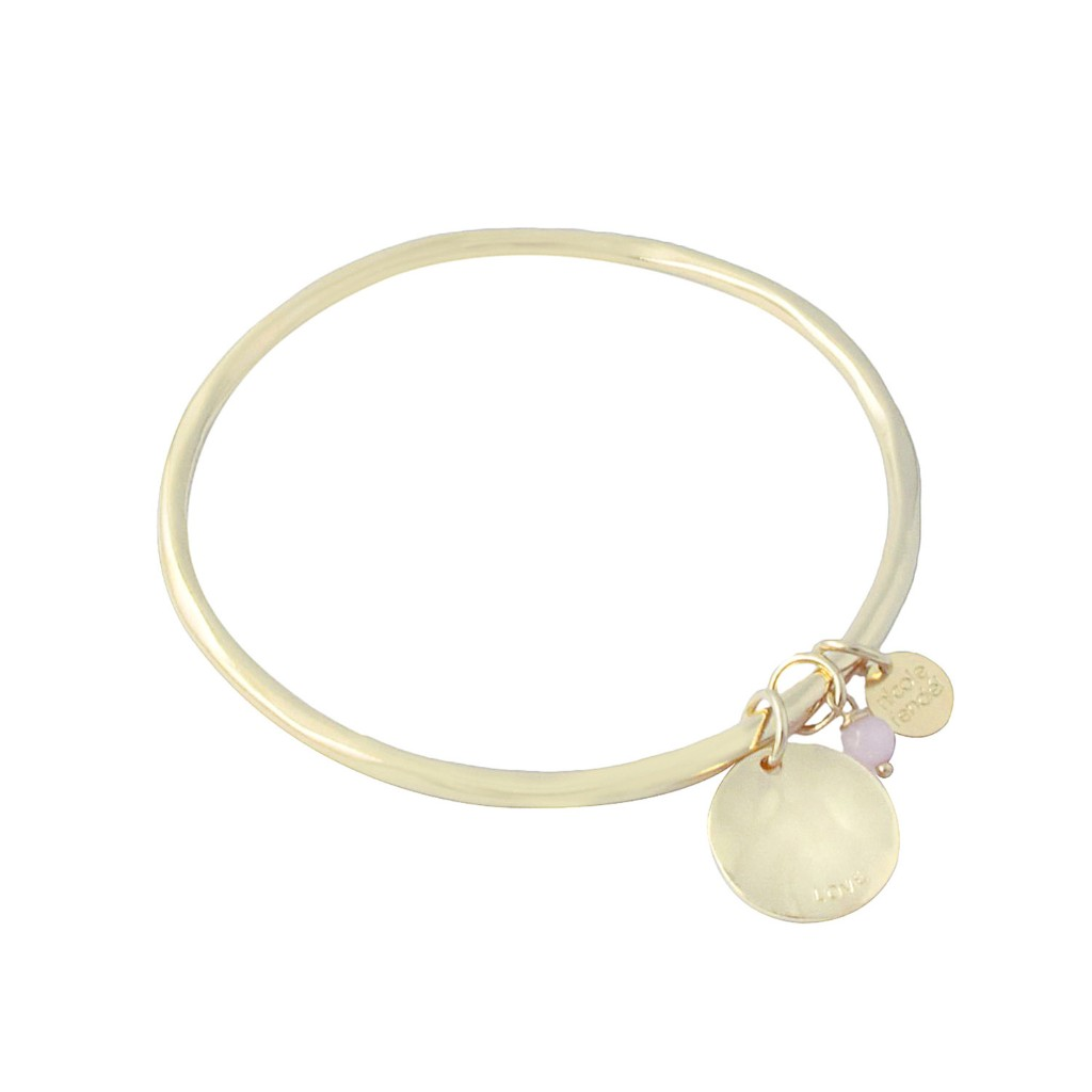 Nicole Fendel Love Always Disc Bangle