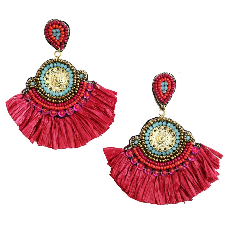 Zoda Medusa Statement Earrings