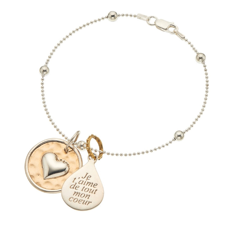 Palas Jewellery Charm I Love You With All My Heart