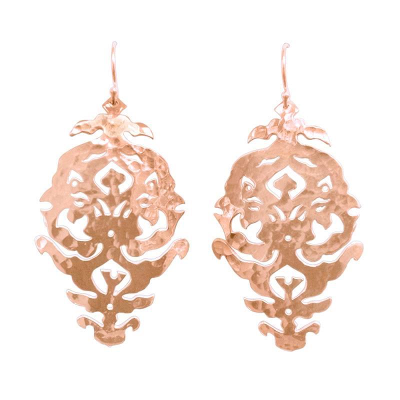 Murkani Empire Earrings Rose Gold