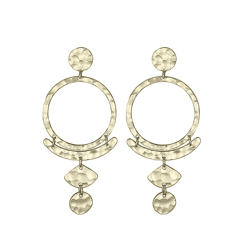 Nicole Fendel Ivy Drop Earrings
