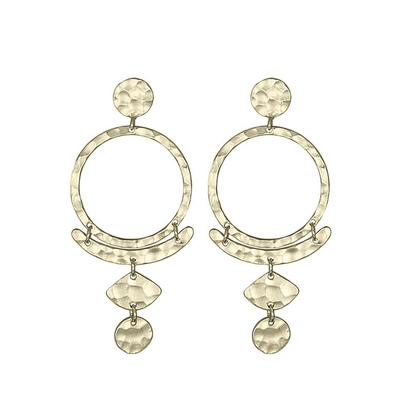 Nicole Fendel Ivy Drop Earrings