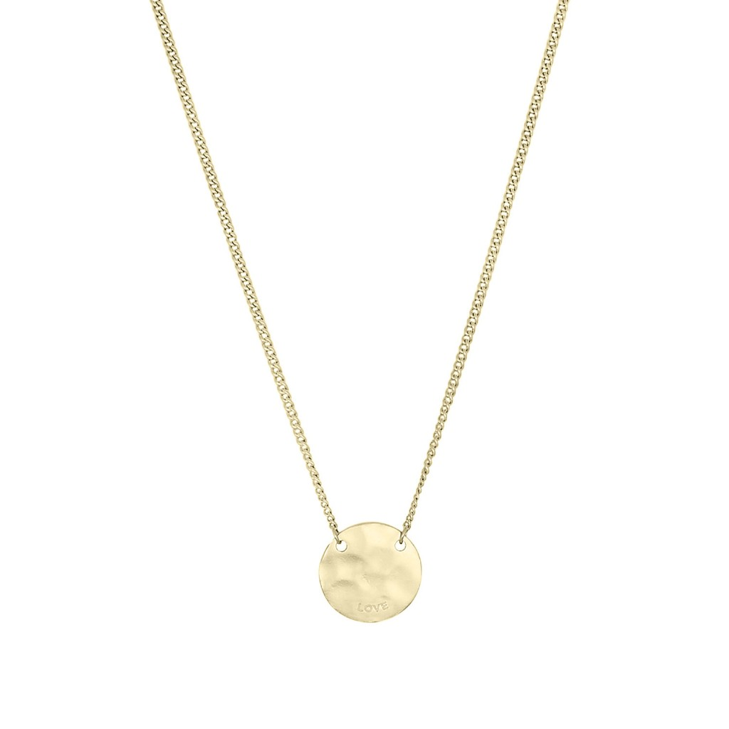 Nicole Fendel Love Always Disc Pendant