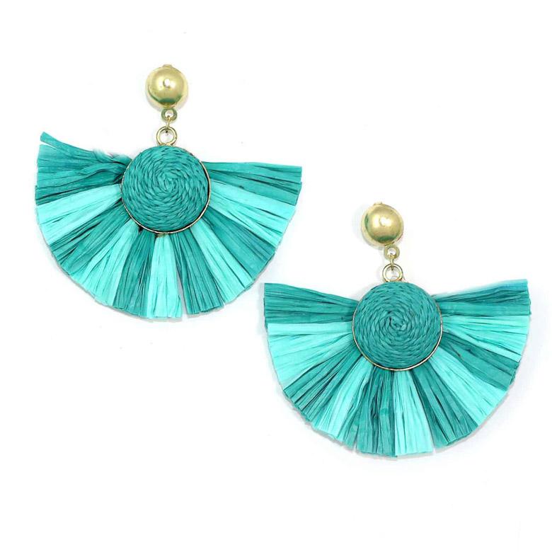 Zoda Angelica Earrings - Turquoise