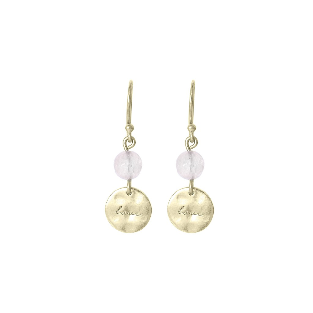 Nicole Fendel Love Earrings