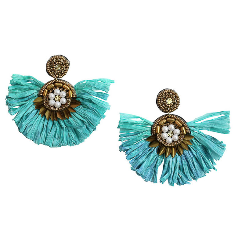 Zoda Shukura Statement Earrings