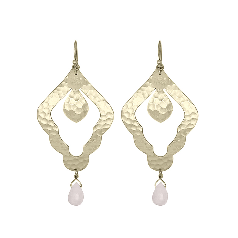 Nicole Fendel Aleah Statement Earrings