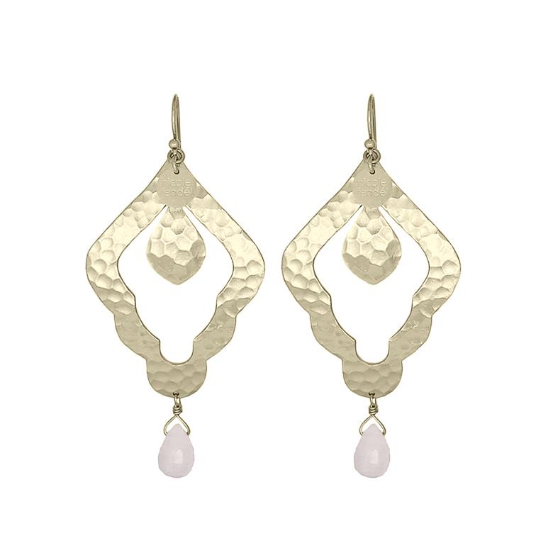 Nicole Fendel Aleah Statement Earrings