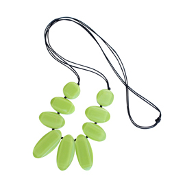 Ruby Olive Tropicala Necklace Green