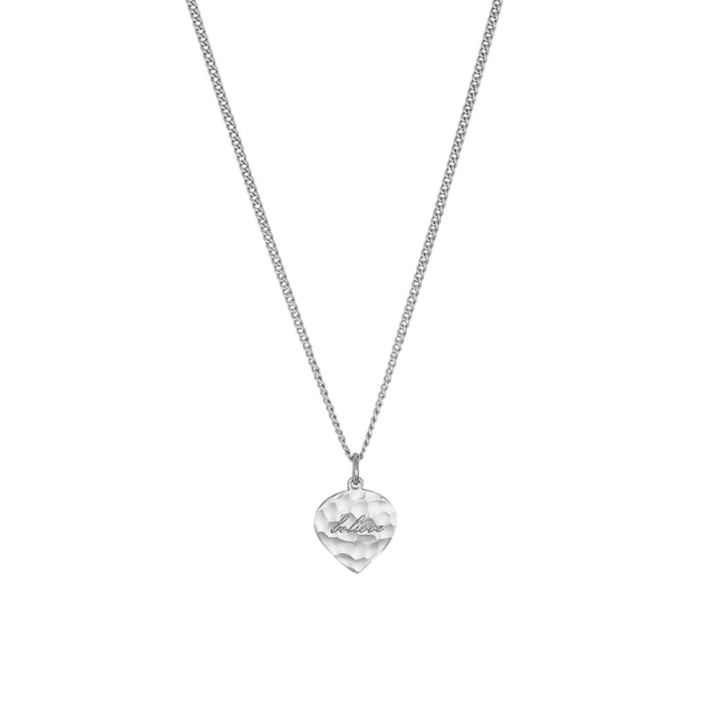 Nicole Fendel Believe Pendant Necklace