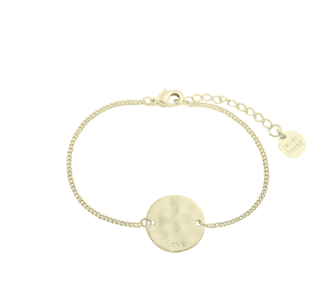 Nicole Fendel Love Always Disc Bracelet