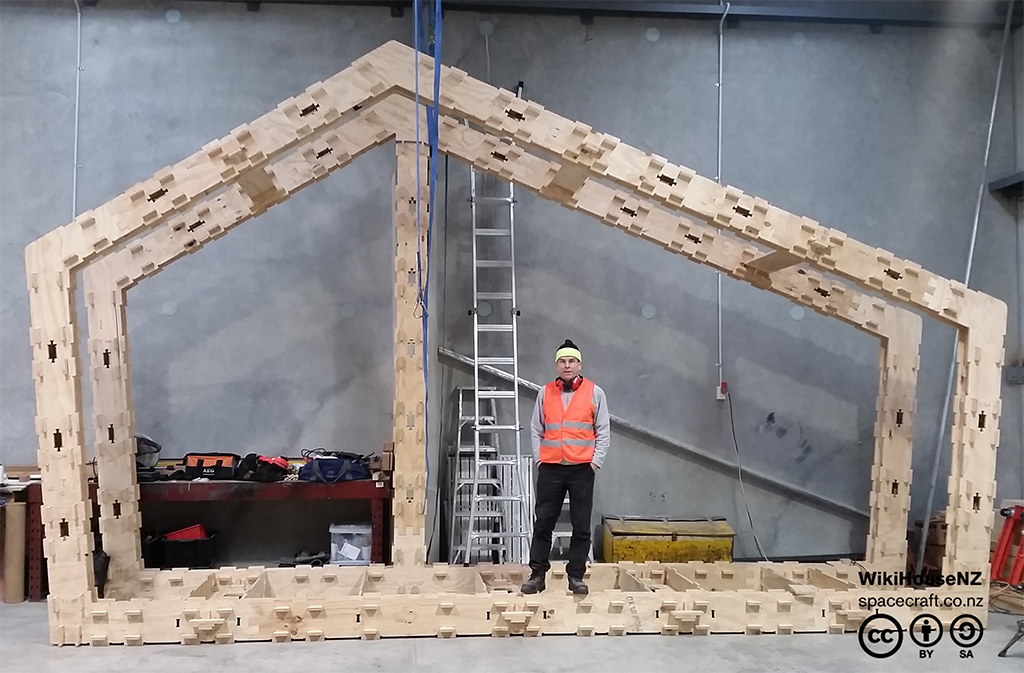 WikiHouse portal to compared to human scale