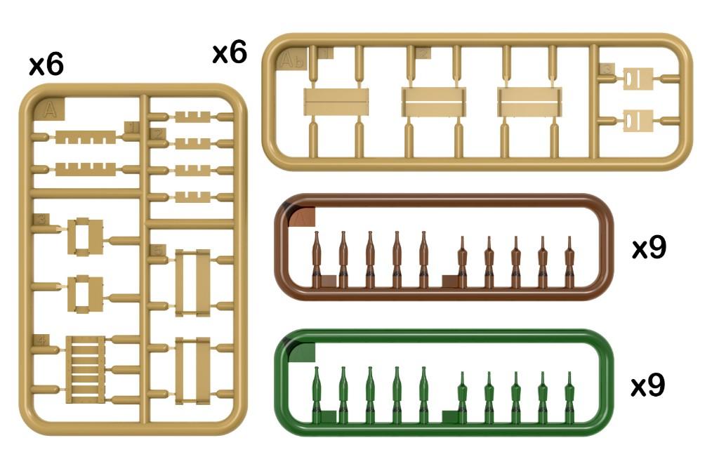 35178 SU-85 SOVIET SPG Mod. 1943 w/CREW (Early Production)
