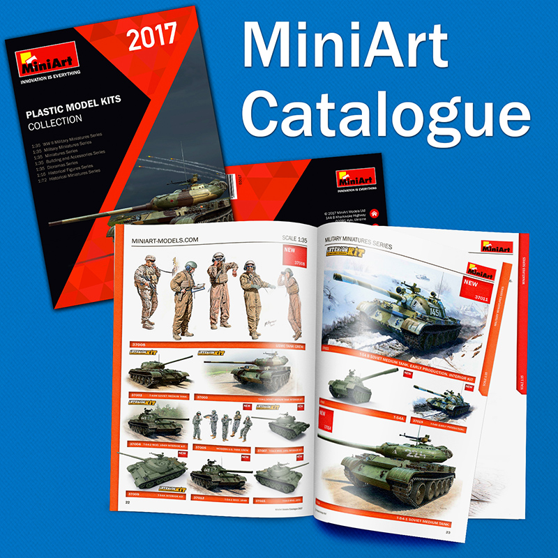 2nd edition of the MiniArt's Catalogue 2016