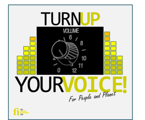 Turn up your voice
