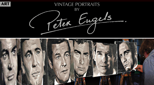 Vintage portraits of Peter Engels
