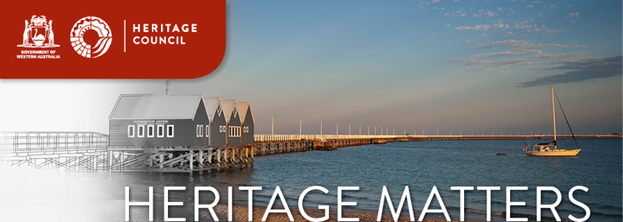Heritage Matters Header - Busselton Jetty, Busselton