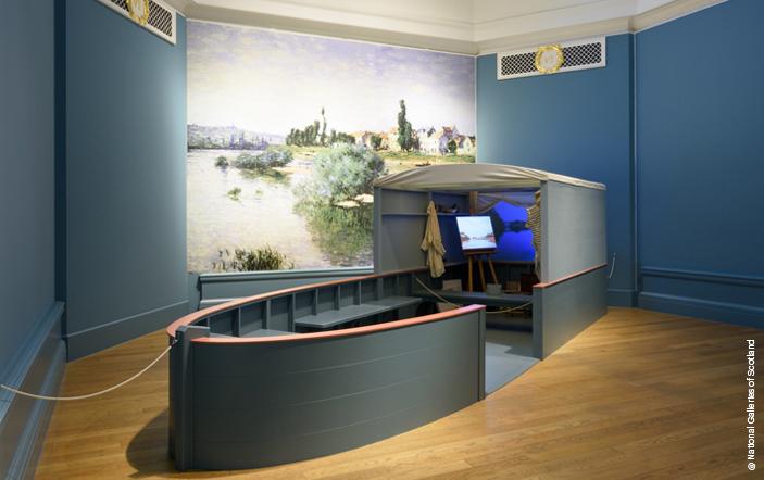 Daubigny's studio boat at Inspiring Impressionism