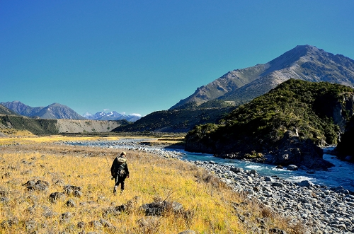 Fishing from Owen River Lodge, South Island, NZ