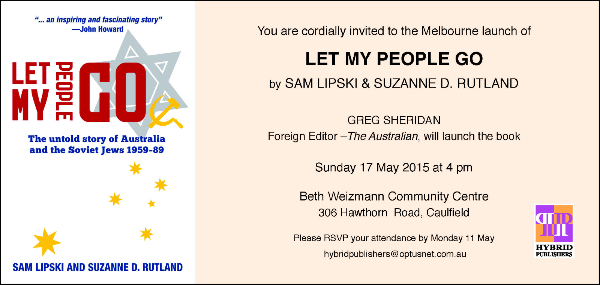 Let My People Go- Sam Lipski