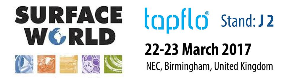Тапфло Великобритания на выставке Surface World 2017