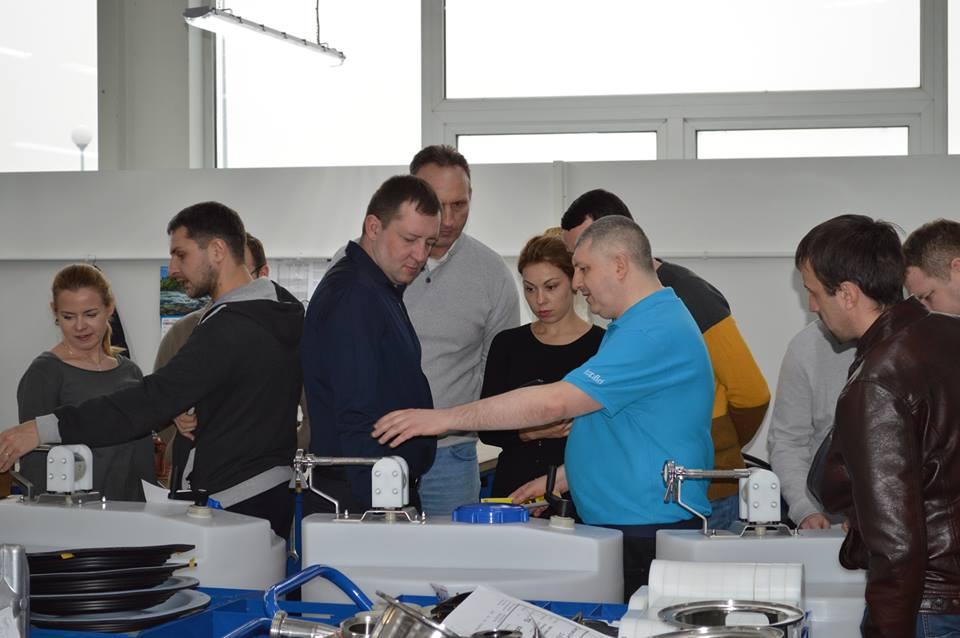 Специалисты   Tapflo Ukraine провели неделю в Польше, в городе Тчев