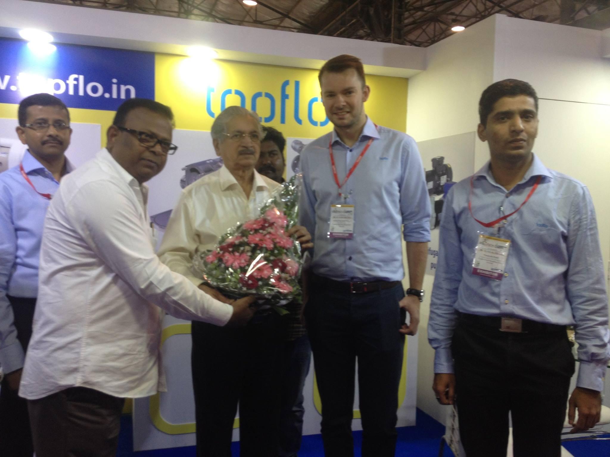 Промышленная выставка CHEMTECH в Индии