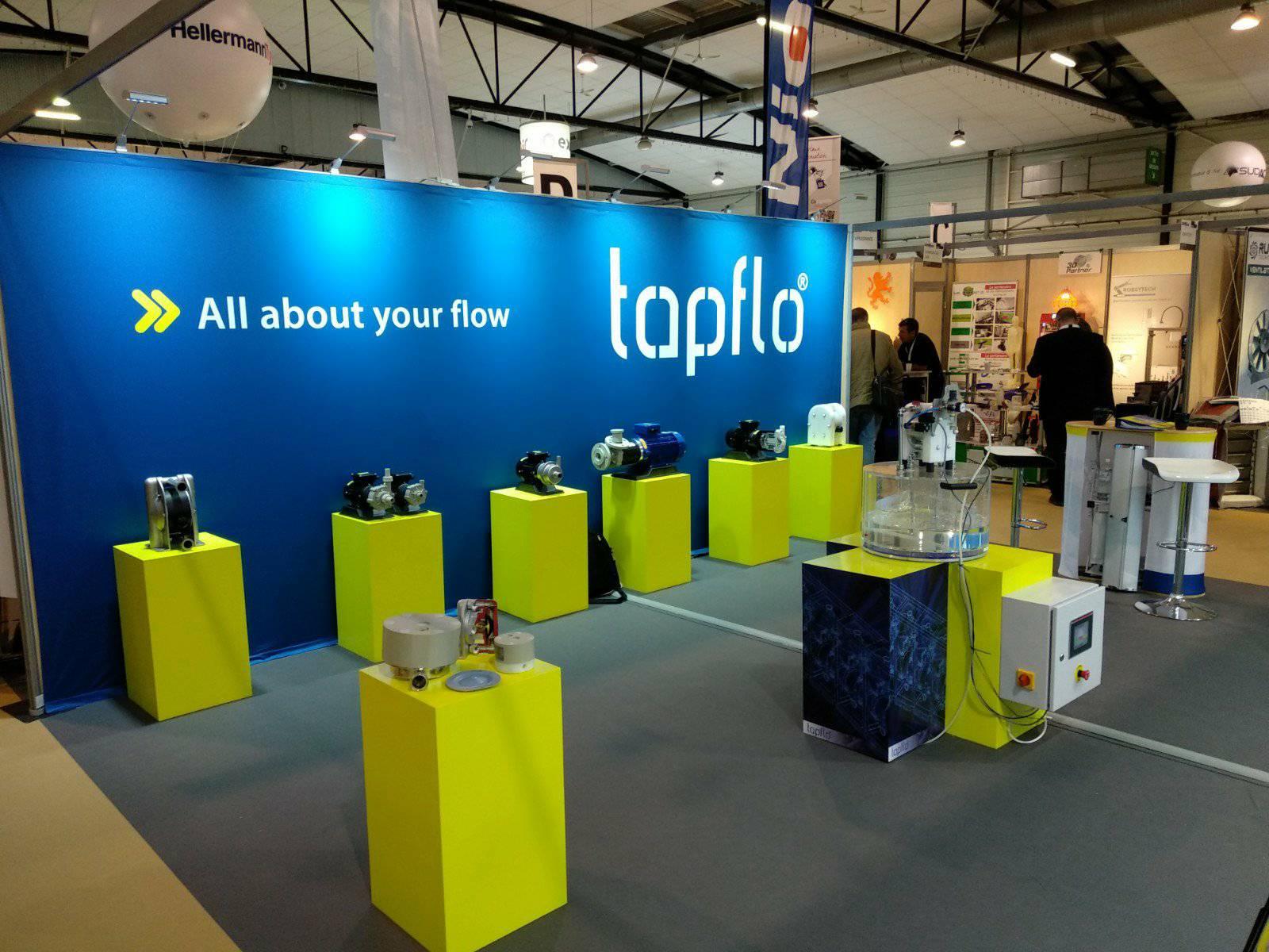 Tapflo Франция на выставке SEPEM Industries 2018