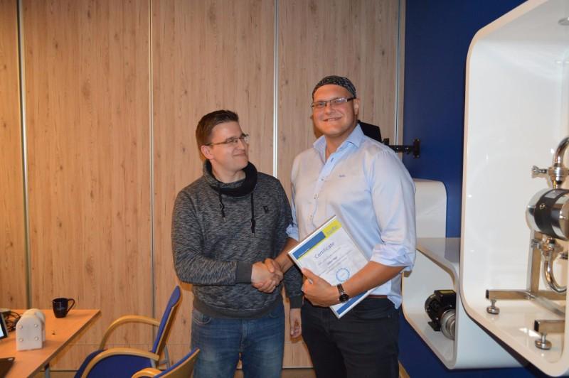 Академия Тапфло в Польще принимали друзей изофиса Tapflo в Чехии