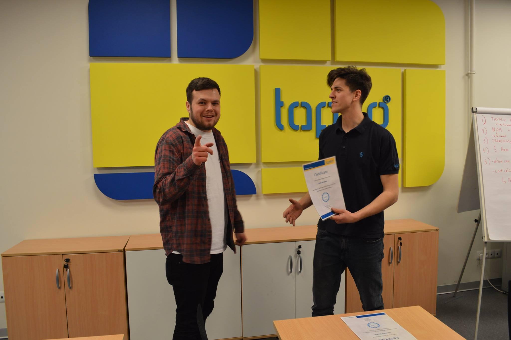Тренинг Академия Тапфло 2017