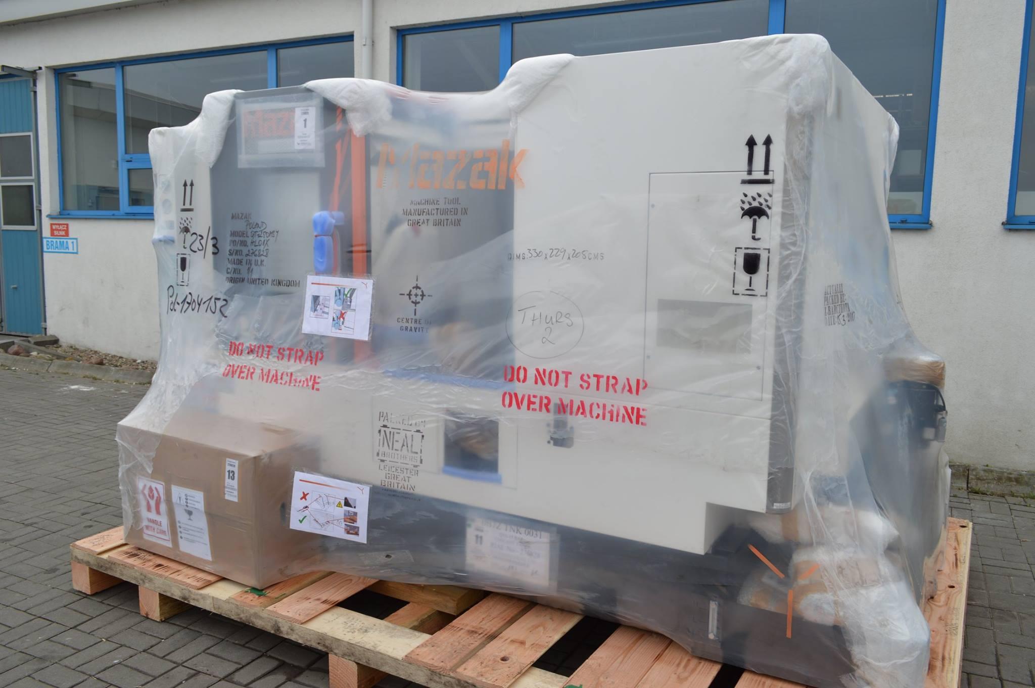 На завод Тапфло прибыл новый токарный центр