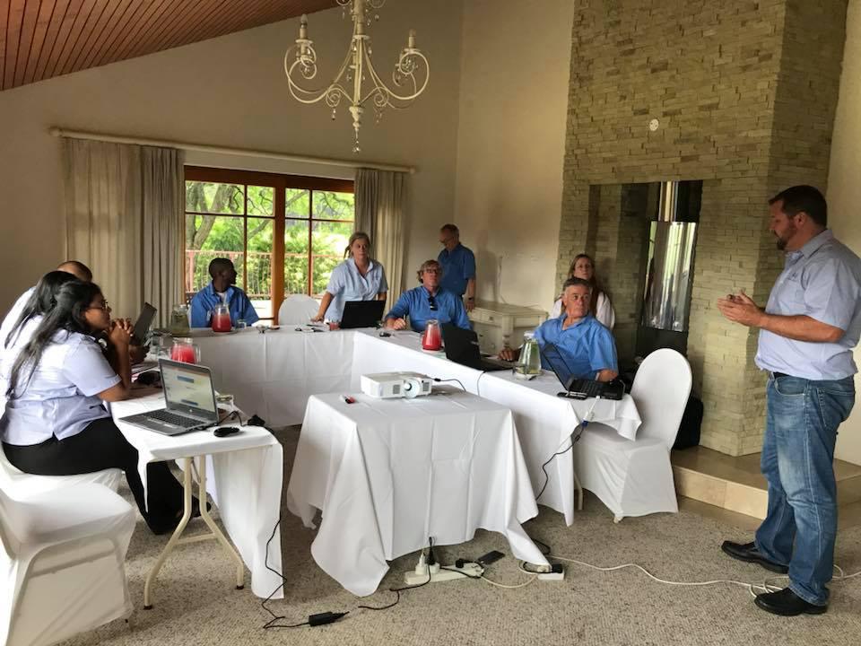 январь 2018, ежегодное собрание Тапфло в Южной Африке