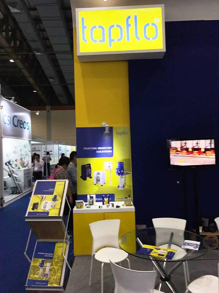 Тапфло на выставке Asia Pacific Coatings 2017